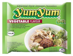 Instantnudeln, vegetarisch