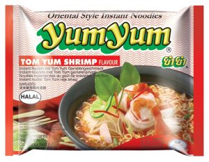 Instantnudeln, Tom Yum Shrimps