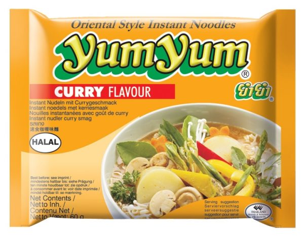 Instantnudeln, Curry